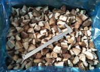 ISO Quarter Cut IQF Frozen Shiitake Mushrooms For Catering